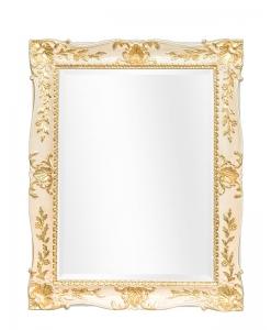 Wandspiegel rechteckig gold