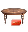 Ovaler Tisch solider Struktur