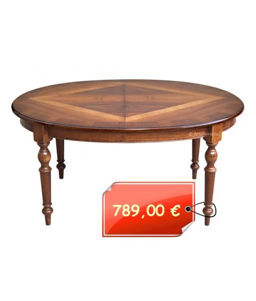 Ovaler Tisch aus Holz LP-01_off-tornite-estero
