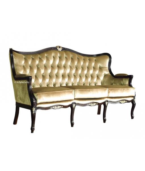 Klassisches Sofa 3-Sitzer, Art.-Nr. MS-3191D