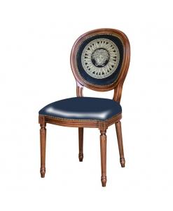 Klassischer Stuhl, Stühle made in Italy