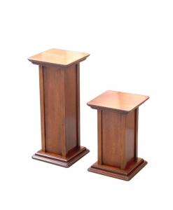 2 Vasenständer aus Holz
